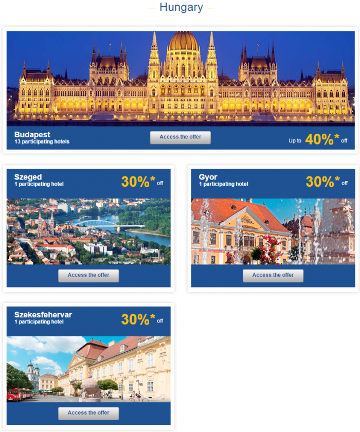 Le Club Accorhotels Weekly Sales April 1 2015 Hungary 1