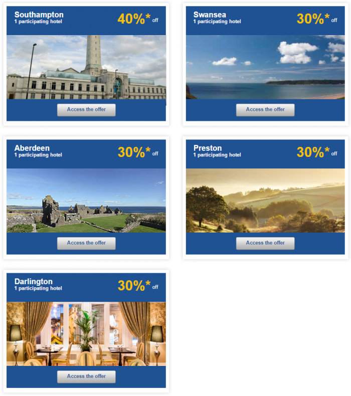 Le Club Accorhotels Weekly Sales April 7 UK 2