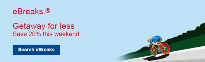 Marriott eBreaks April 23 - 26 2015