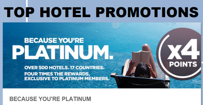 Top Hotel Promotions April 2015