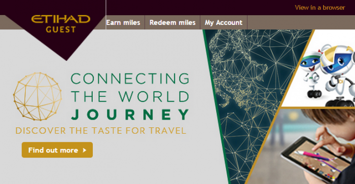 Etihad Airways Etihad Guest Expo Milano 2015