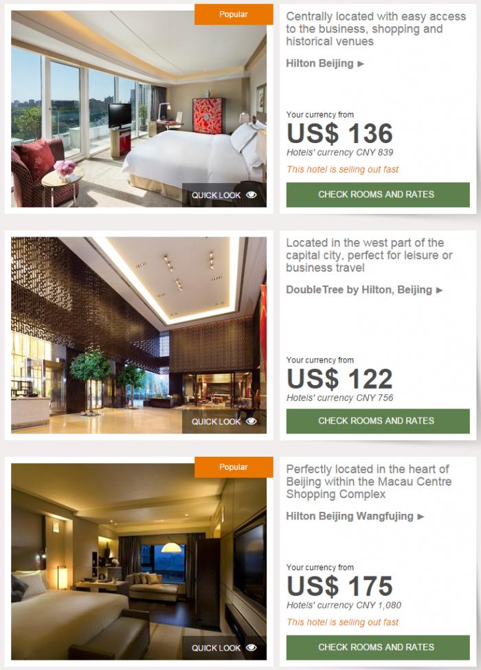 Hilton Asia-Pacific Website Mainland China Hong Kong Macau