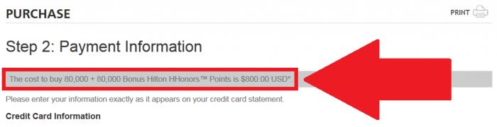 Hilton HHonors Buy Points 100 Percent Bonus June 17 2015 Price