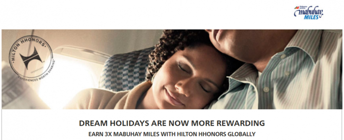 Hilton HHonors Mabuhay Miles Triple Offer May 1 July 31 2015