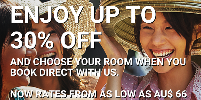 Hilton HHonors Southeast Asia Up To 30 Percent Off