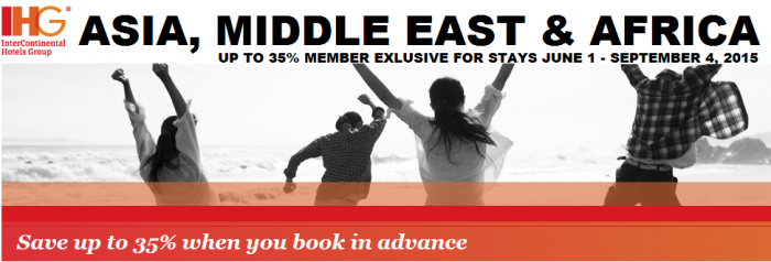 IHG Rewards Club AMEA Member Exclusive