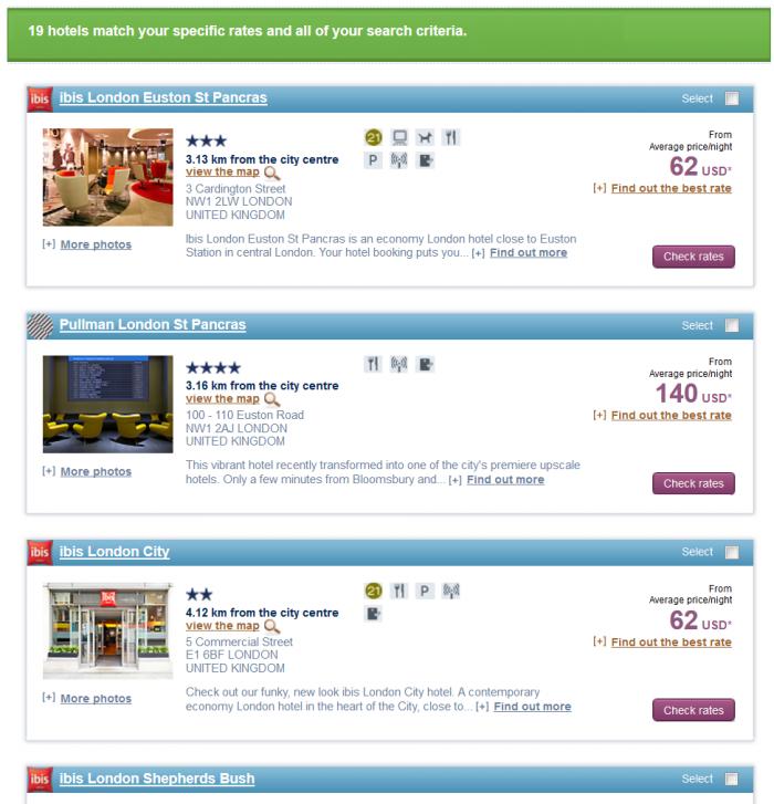 Le Club Accorhotels Happy Monday UK & Ireland Offer 2015 London
