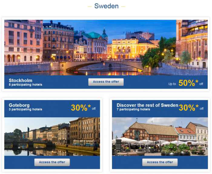 Le Club Accorhotels Private Sales May 12 - 19 2015  Sweden 1