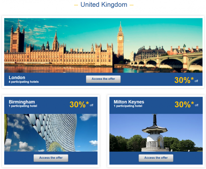 Le Club Accorhotels Private Sales May 12 - 19 2015 UK 1