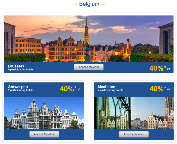 Le Club Accorhotels Private Sales May 26 - June 1 2015 Belgium 1