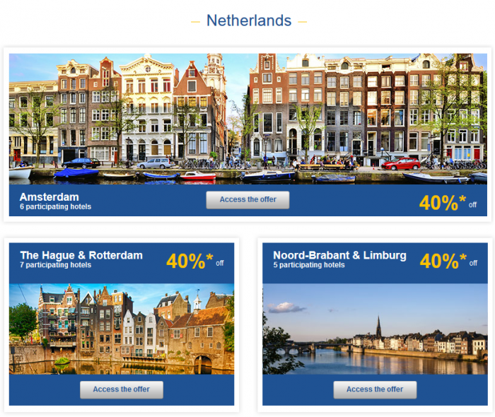 Le Club Accorhotels Private Sales May 26 - June 1 2015 Netherlands 1