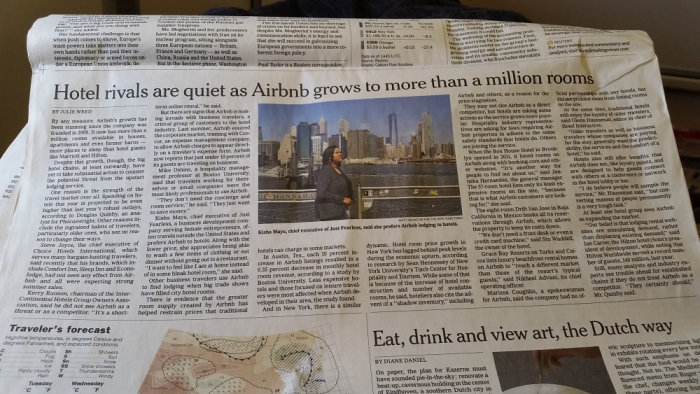 New York Times Airbnb Grows To- A Million Rooms And Hotel Rivals Are Quiet For Now