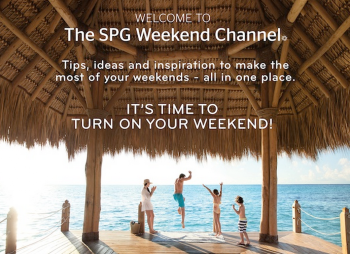 The SPG Weekend Channel