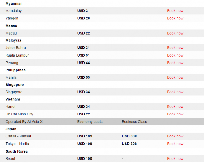 AirAsia Big Sale DMK International 2