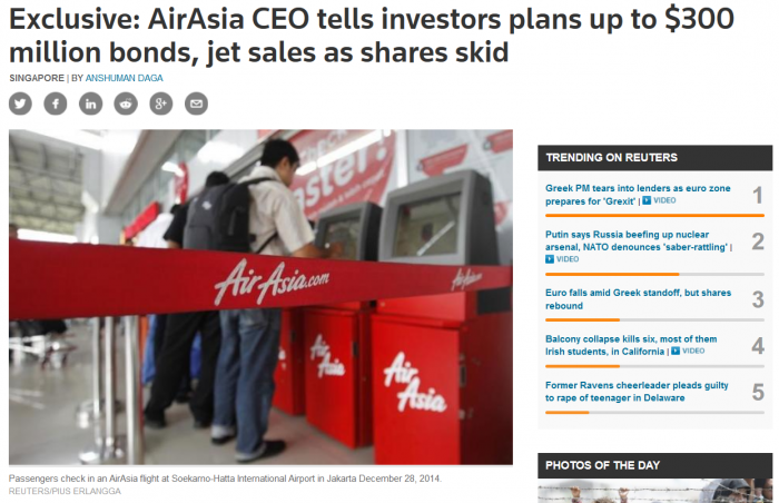 AirAsia Cooking The Books