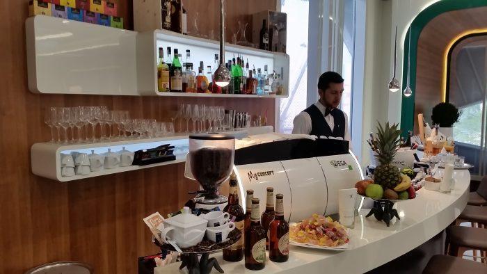Alitalia Etihad Expo Milano 2015 Premium Lounge Bar