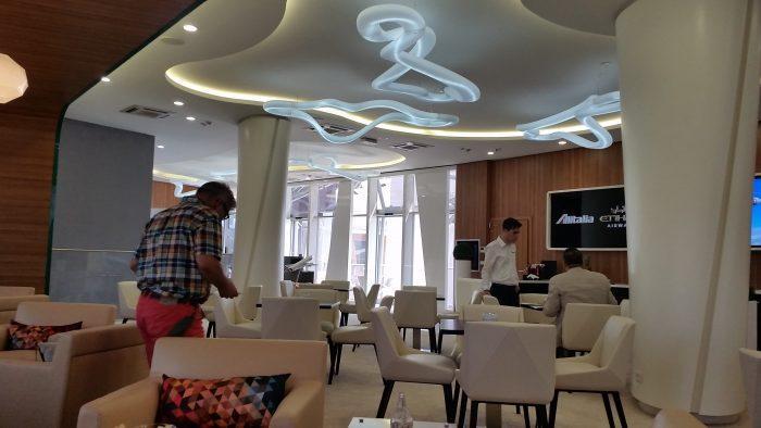 Alitalia Etihad Expo Milano 2015 Premium Lounge Ceiling