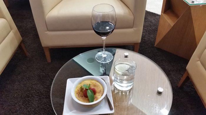 Alitalia Etihad Expo Milano 2015 Premium Lounge Evening Dessert