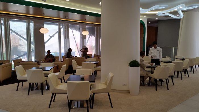 Alitalia Etihad Expo Milano 2015 Premium Lounge Sitting Area