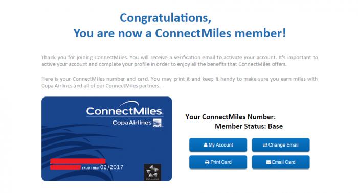 COPA ConnectMiles