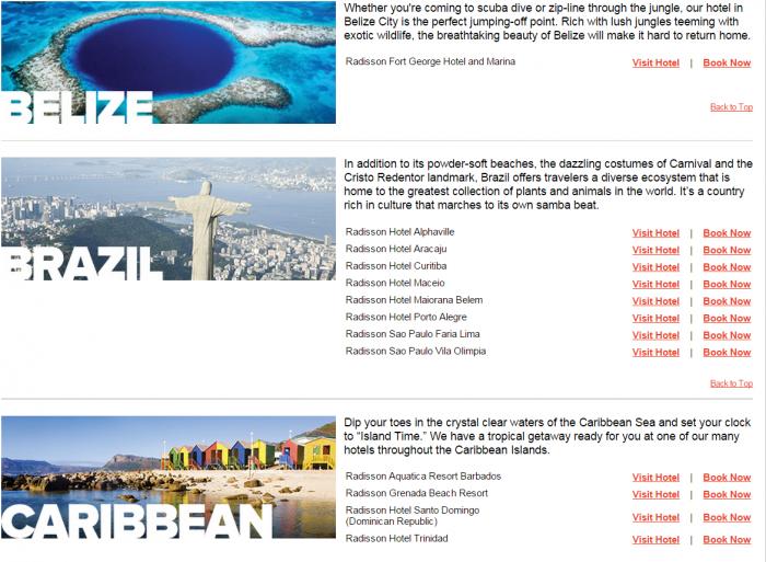Club Carlson Latin America 25 Percent Off Awards Hotels 1