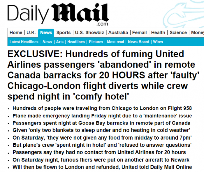 Daily Mail United YYR