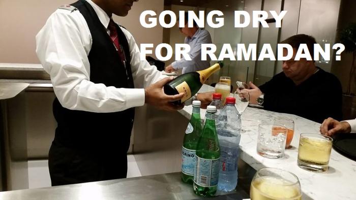 Going Dry For Ramadan
