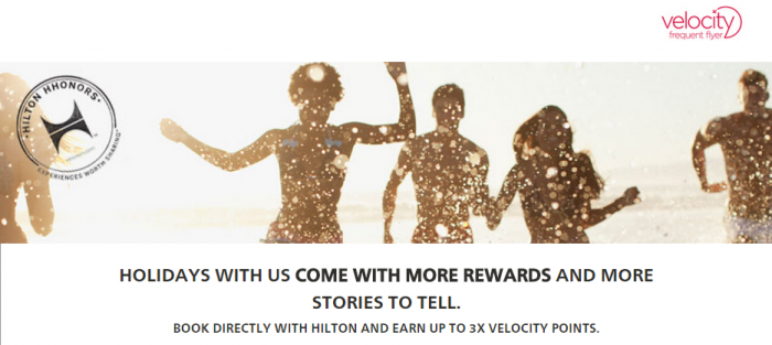 Hilton HHonors Virgin Australia Up To Triple Velocity Points June 1 August 31 2015
