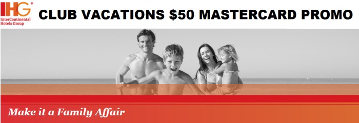 IHG Rewards Club Club Vacations Adventure Bonus