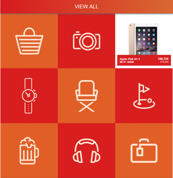 IHG Rewards Club Merchandise Rewards Sale Summer 2015 Items