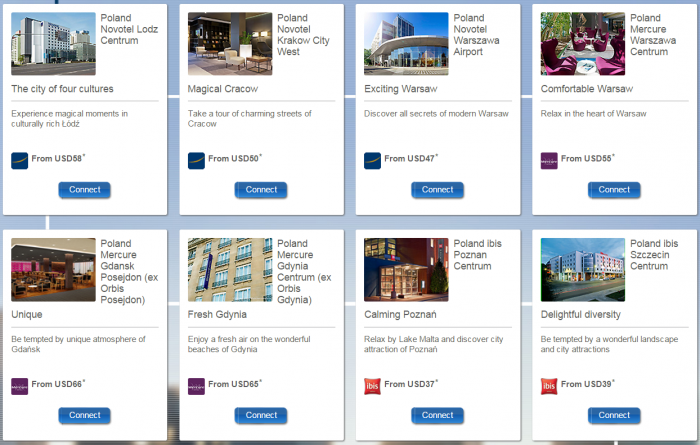 Le Club Accorhotels Poland Latvia Lithuania Up TO 1500 Bonus Points June 2 August 31 2015 Participating Hotels