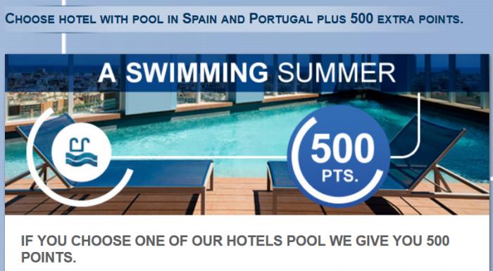 Le Club Accorhotels Spain & Portugal 500 Bonus Points June 15 August 31 2015