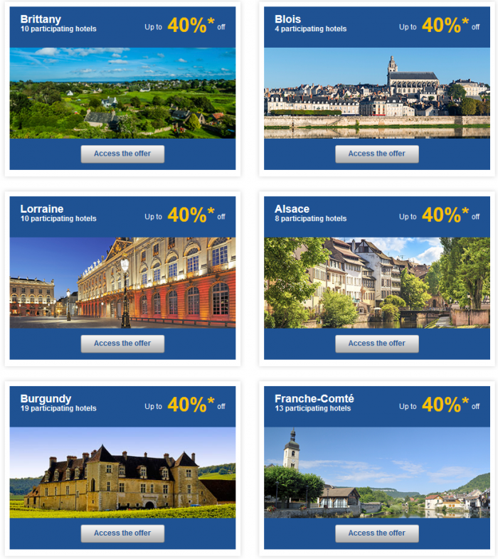 Le Club Accorhotels Weekly Private Sales June 2 - 9 2015 France 2