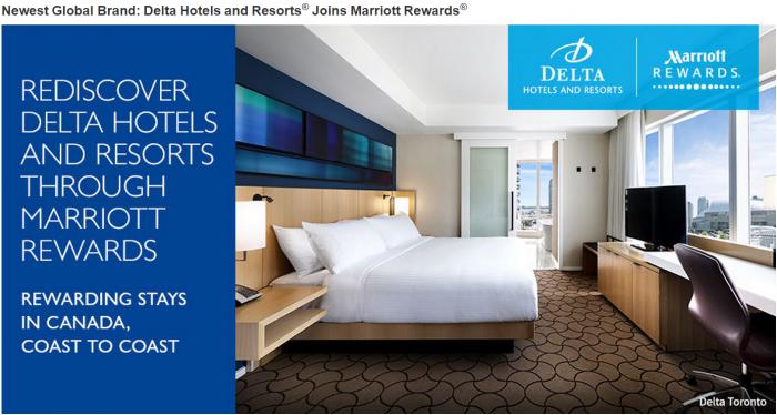 Marriott Rewards Delta Hotels benefits Start June 28 2015