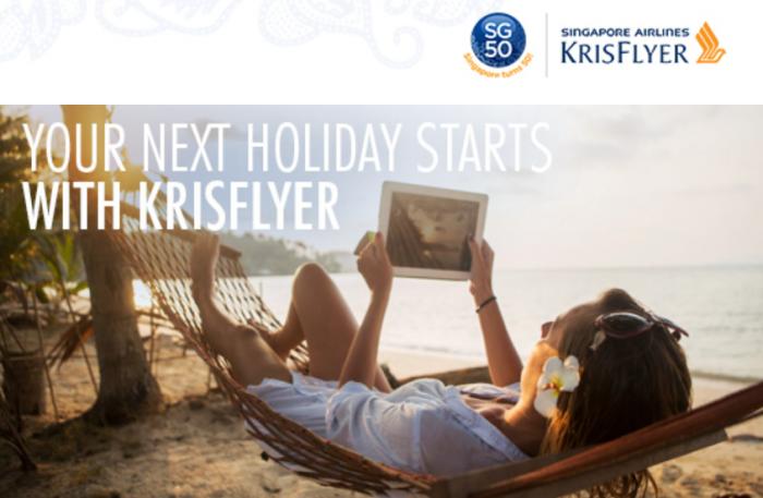 Singapore Airlines KrisFlyer 10,000 Bonus Miles 50th Anniversary