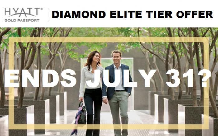 Hyatt Gold Passport Elite Tier Offer 2015 Ends July 31