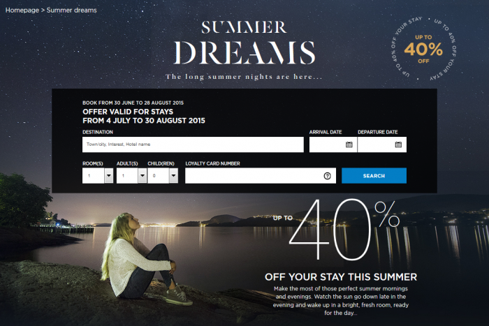 Le CLub Accorhotels Summer Deals Europe Up To 40 Percent Off July 4 August 30 2015