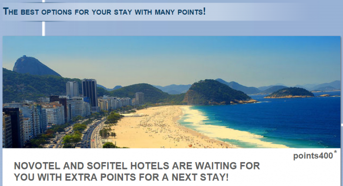 Le Club Accorhotels Novotel Sofitel South America Offer July 1 August 31 2015