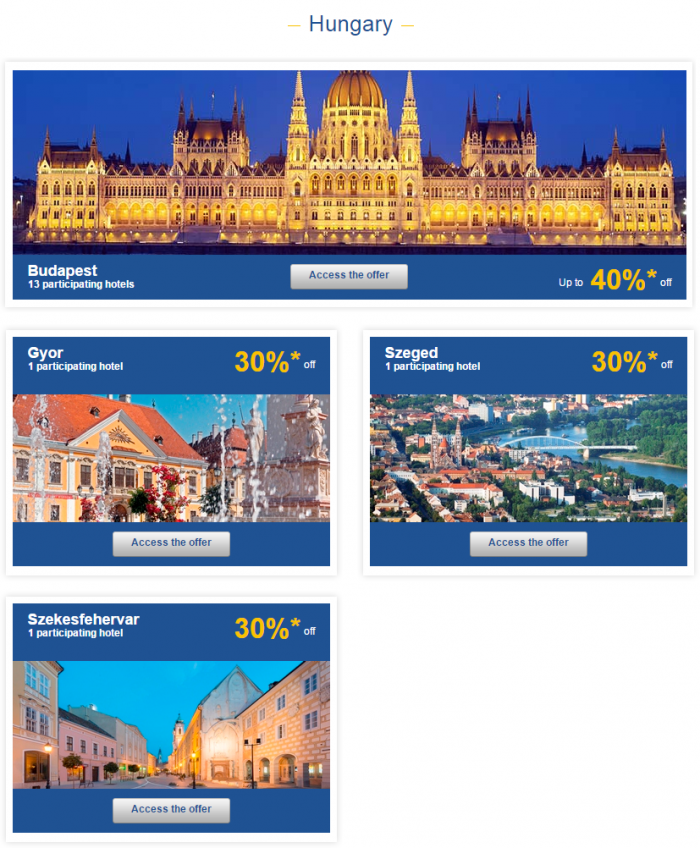 Le Club Accorhotels Europe Private Sales July 7 Hungary 1