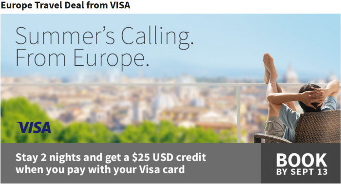 Marriott Rewards Visa Europe Promo
