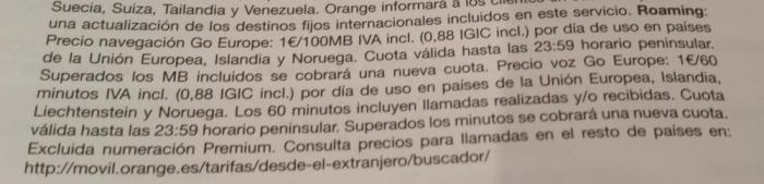 Fabulous Fridays Orange Spain Mundo Prepaid Data Countries