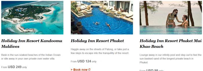 IHG Rewards Club Triple Miles Select Asia-Pacific Resorts Until December 19 2015 1