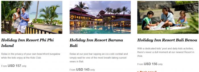 IHG Rewards Club Triple Miles Select Asia-Pacific Resorts Until December 19 2015 2