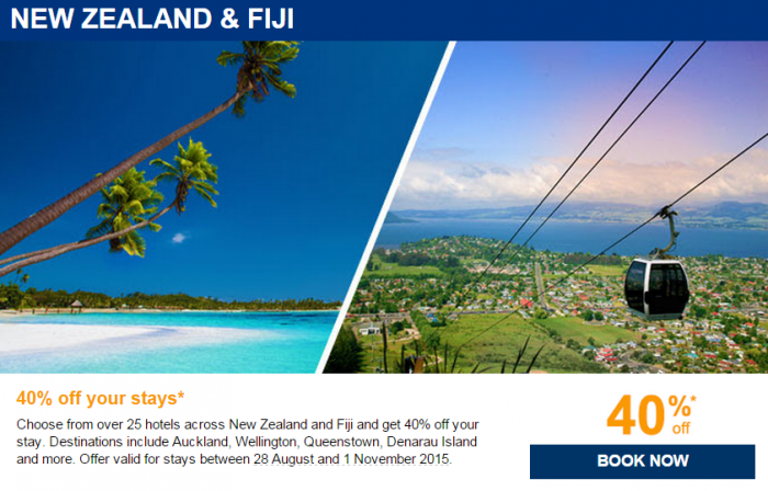 Le Club Accorhotels August 2015 Private Sales New Zealand & Fiji