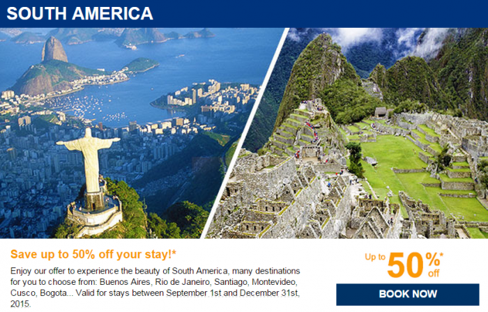 Le Club Accorhotels August 2015 Private Sales South America