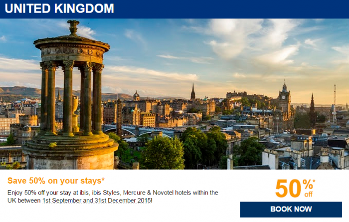 Le Club Accorhotels August 2015 Private Sales UK
