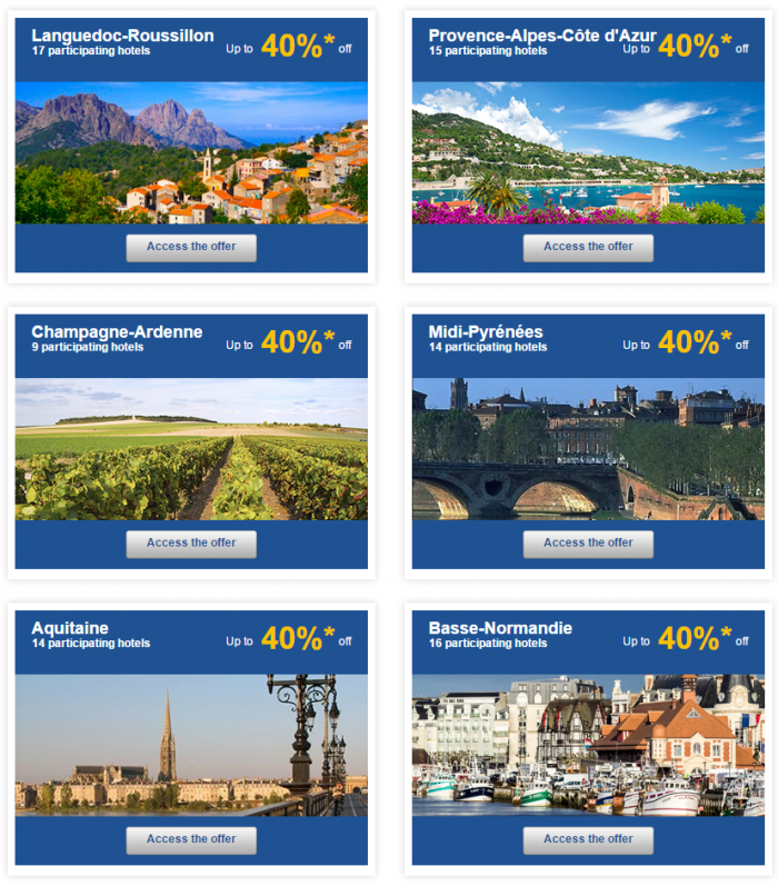 Le Club Accorhotels Europe Up To 50 Percent Off Private Sales France 2