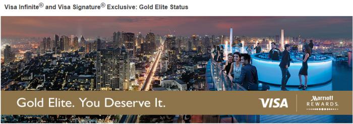 Marriott Rewards Gold Visa Infinite Signature Latin America