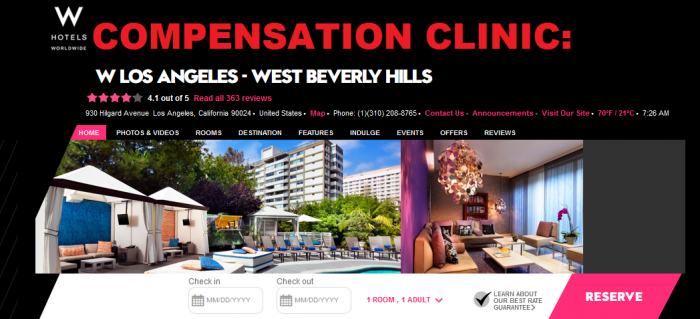 Compensation Clinic W West Beverly Hills Main