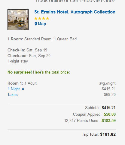 Expedia Rewards Coupon + Points Use Update VIP Access